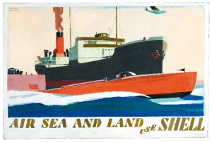 Andrew Johnson, Air, Sea and Land Use Shell, 1936